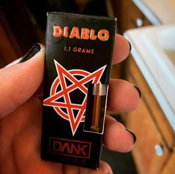 Buy Diablo Full Gram Dank Vape Cartridge