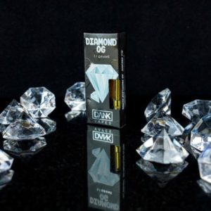 BUY DIAMOND OG FULL GRAM DANK VAPE CARTRIDGE