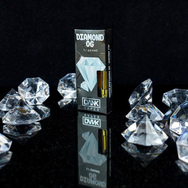 BUY DIAMOND OG FULL GRAM DANK VAPE CARTRIDGE