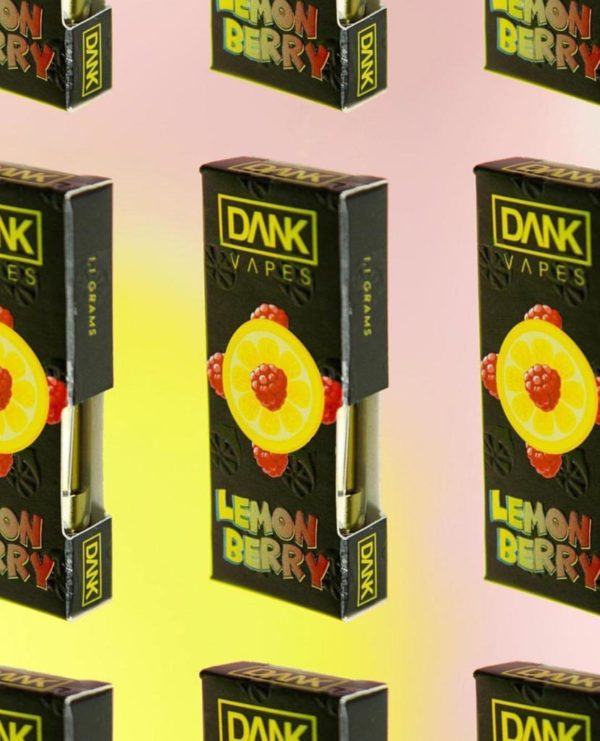 BUY LEMON BERRY DANKVAPES FULL GRAM CARTRIDGE ONLINE