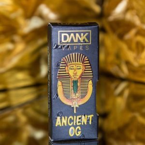 ORDER ANCIENT OG FULL GRAM DANK VAPE CARTRIDGE