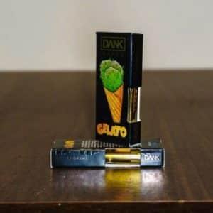 Order Gelato Full Gram Dank Vapes Cartridges graphic