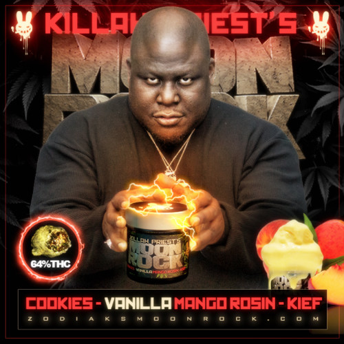 Killah Priest's Vanilla Mango Moon Rock | 64% THC | Cookies