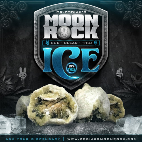 Dr. Zodiak's Moon Rock Ice | 99% THCa