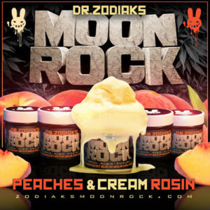 Dr. Zodiak's Peaches N' Cream Moon Rock | Indica