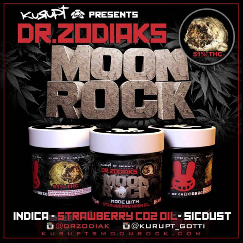 Kurupt's & Dr. Zodiak's Strawberry Moon Rock | 51% THC Indica