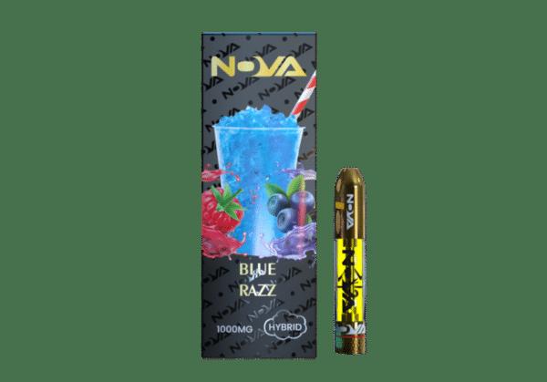 Nova Blue Razz 1000 mg
