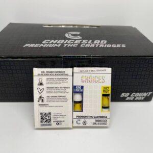Buy choiceslab premium thc cartridges