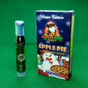 Apple Pie Buddah Bear Carts 1.1 Grams Premium distillate