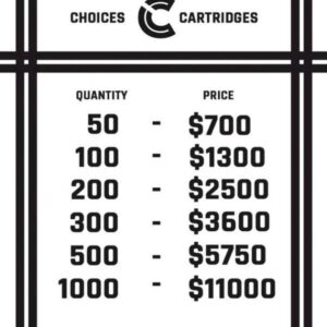 Order Bulk choiceslab premium thc cartridges
