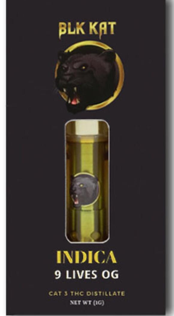 Buy 9 Lives OG | Blk Kat Vapes