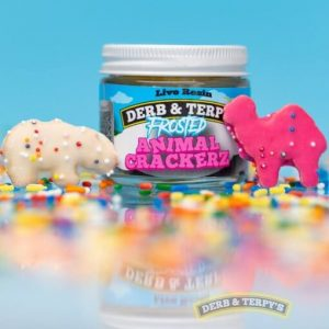 Buy Derb and Terpys Frosted Animal Crackerz